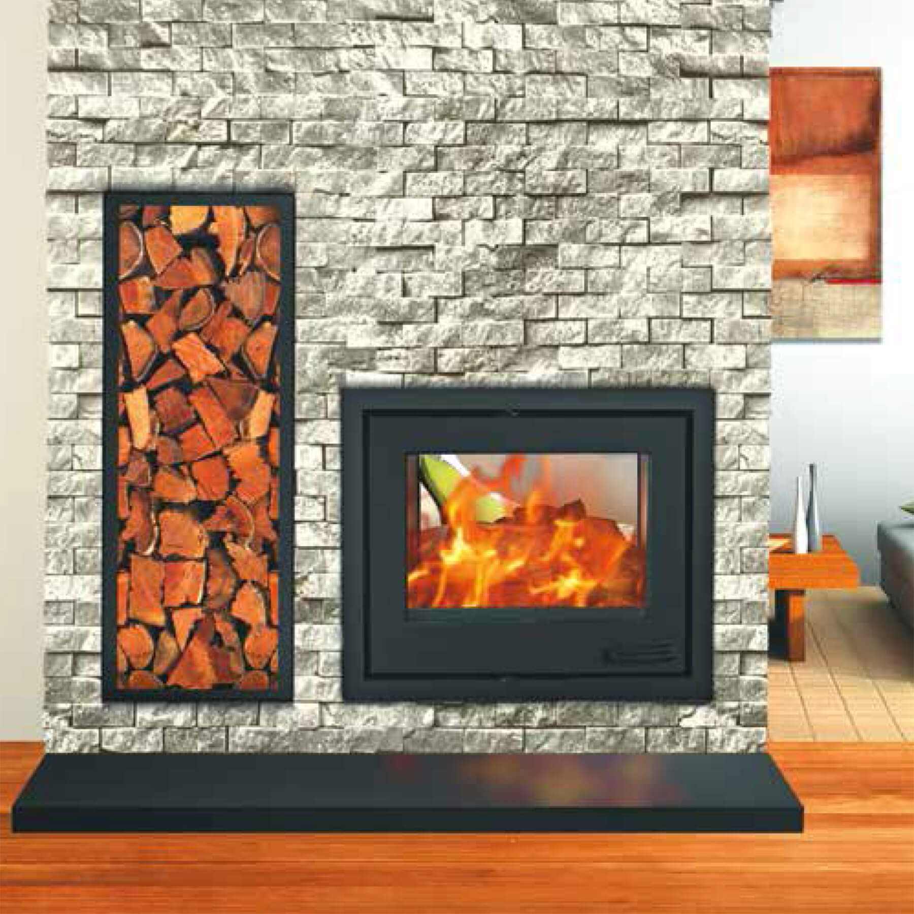 Combustion-Fireplaces-Built-In-14kw-Double-Sided-Insert-Convection-Unit-Environment