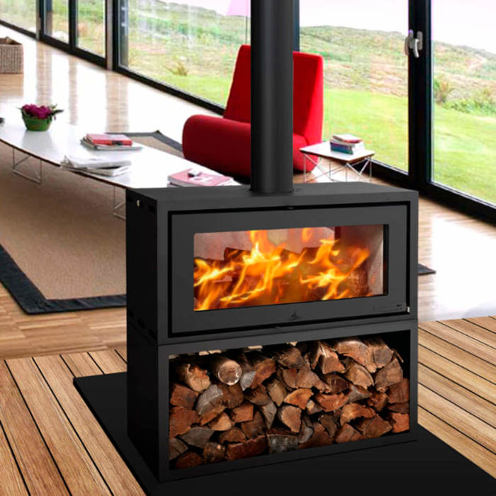 Combustion-Fireplaces-18kw-Double-Sided-Freestanding-Convection-Unit