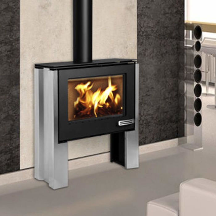 Combustion-Fireplaces-Freestanding-13kw-Convection-Unit-Stainless-Steel-Legs-Environment
