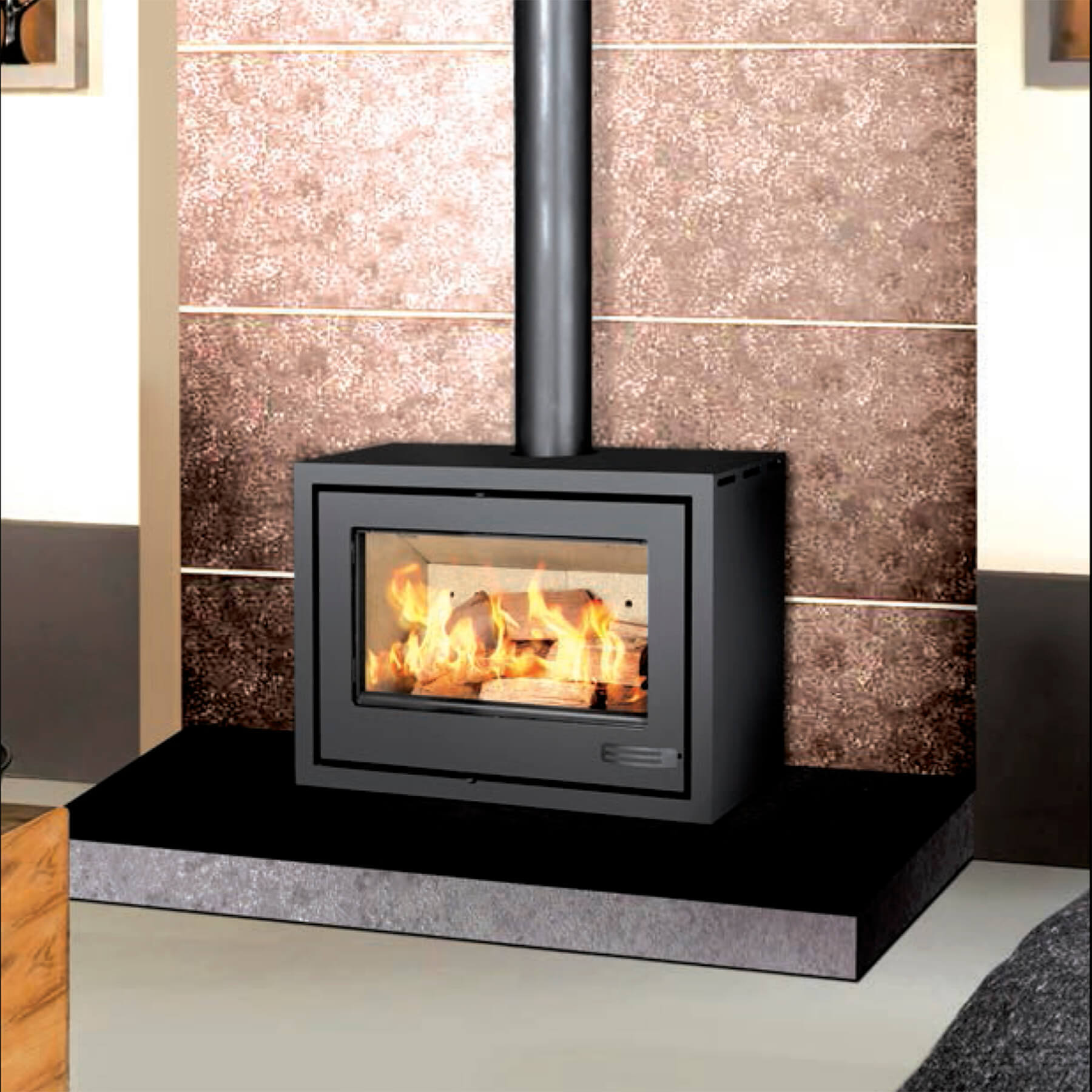Combustion-Fireplaces-Freetanding-13kw-Convection-Unit-Environment