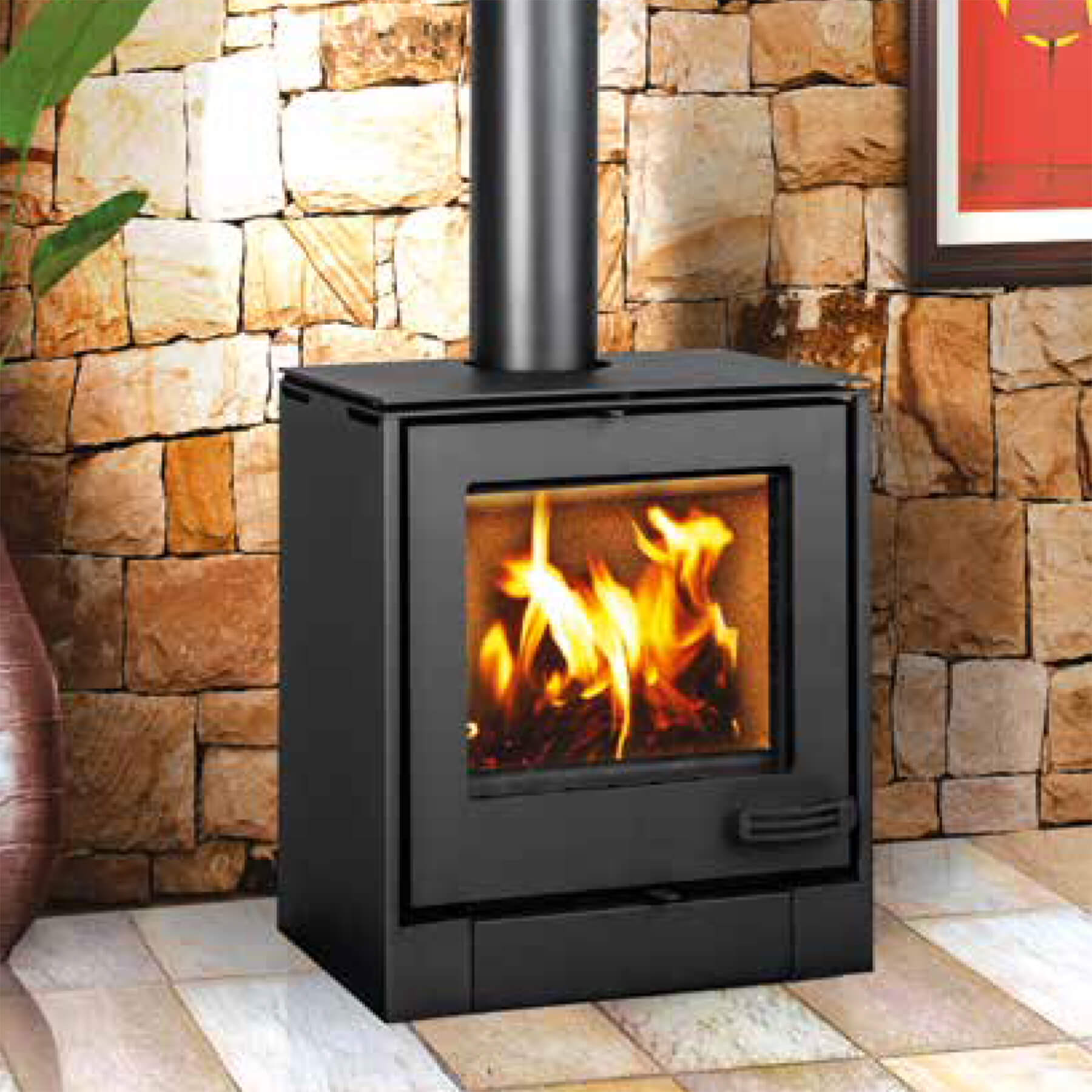 Combustion-Fireplaces-Freetanding-8kw-Convection-Unit-Cube-Look-Environment