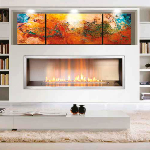 Gas-Fireplaces-1400-Slimline-Flue-Less-Optional-Stainless-Steel-Trim-Environment