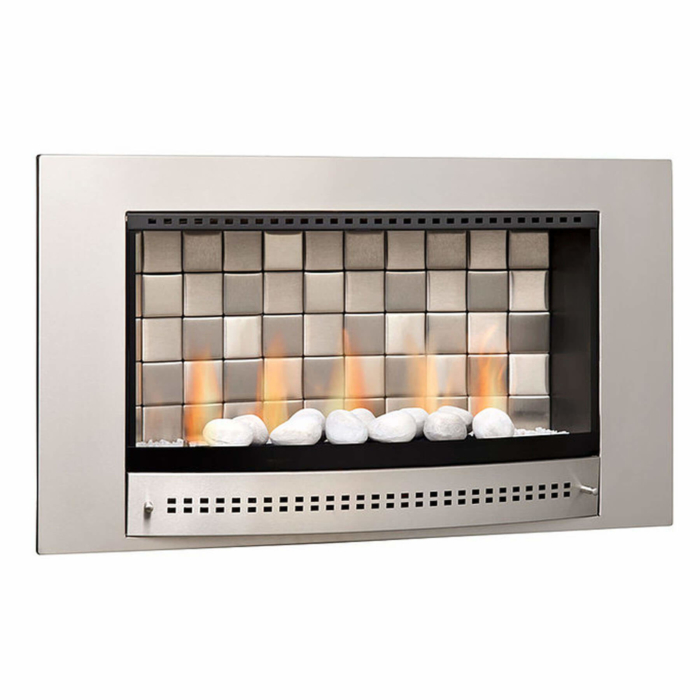 Gas-Fireplaces-Classic-Stainless-Steel-Tiled-Back