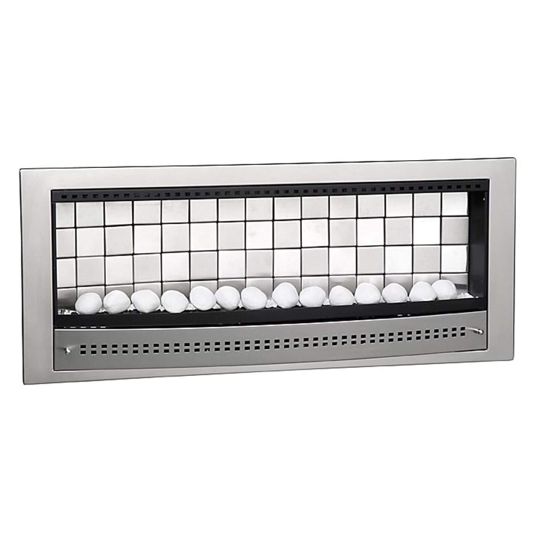 Gas-Fireplaces-Contemporary-Stainless-Steel-Tiled-Back