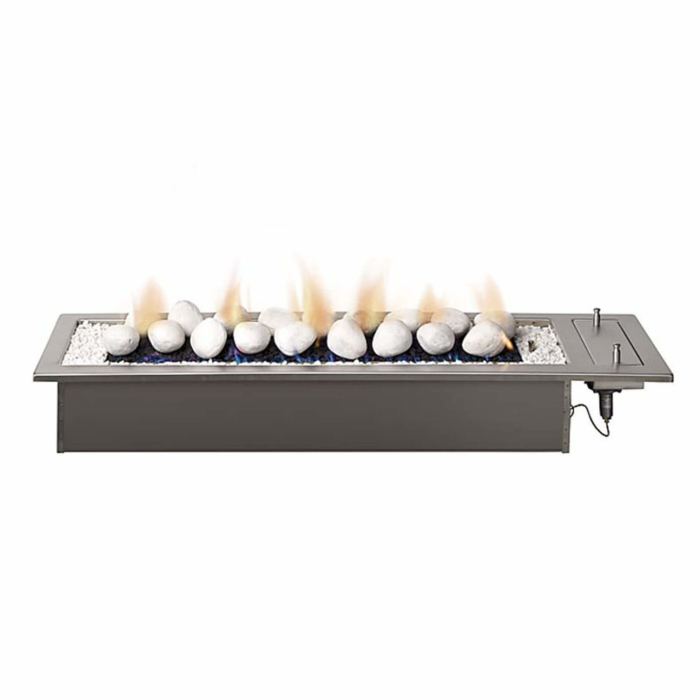 Gas-Fireplaces-Drop-In-Stainless-Steel