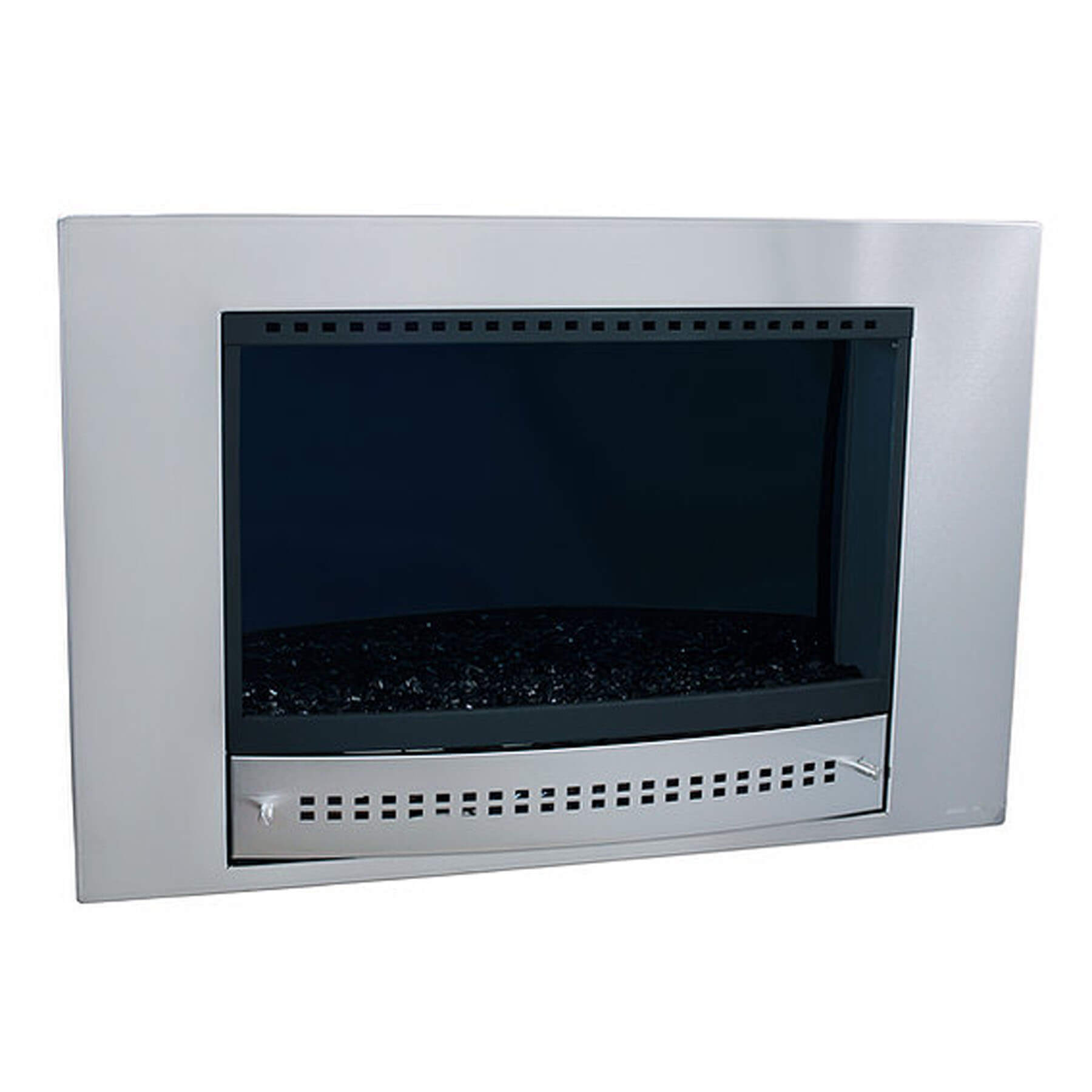 Gas-Fireplaces-Picture-Stainless-Steel-Midnight-Mirror-Back