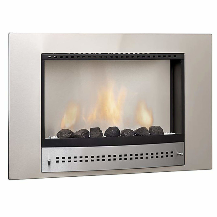 Gas-Fireplaces-Picture-Stainless-Steel-Plain-Back