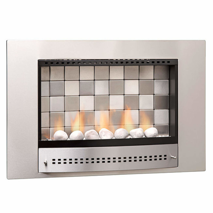 Gas-Fireplaces-Picture-Stainless-Steel-Tiled-Back