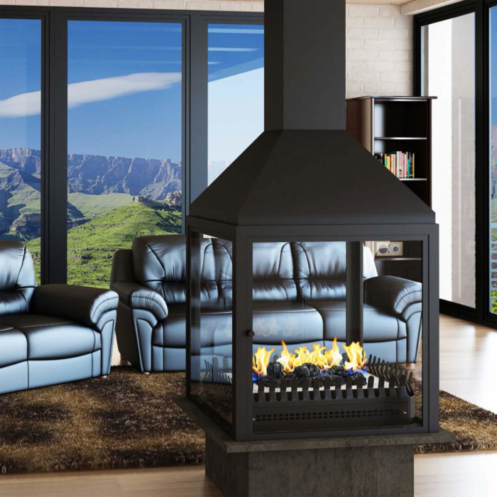 Gas-Fireplaces-Universal-Grate-Double-Sided-Environment
