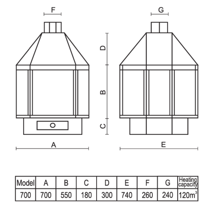 Technical-Specifications-Amethyst-Fireplace