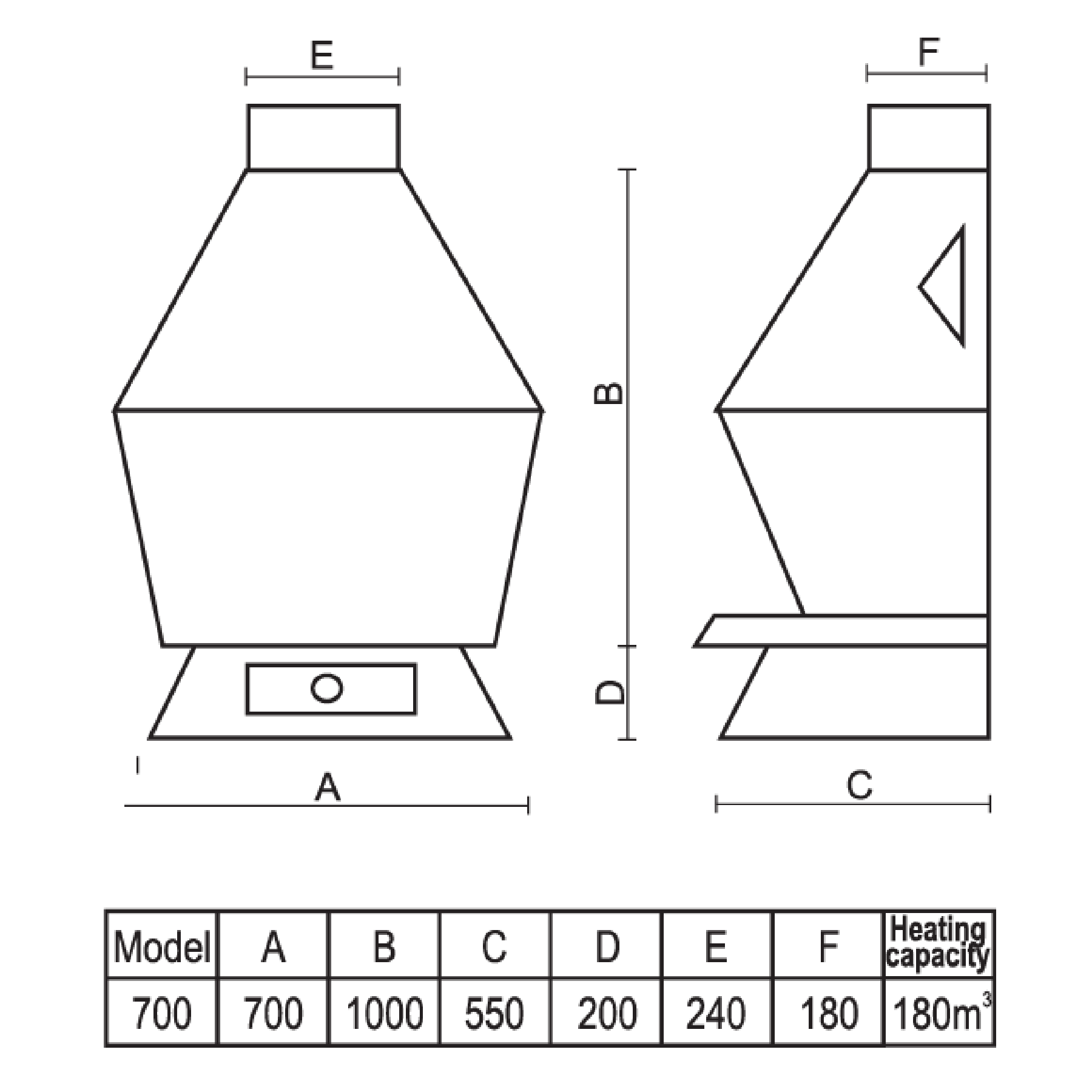 Technical-Specifications-Baron-Fireplace