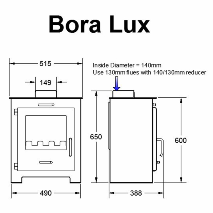 Technical-Specifications-Bora-Lux-Fireplace