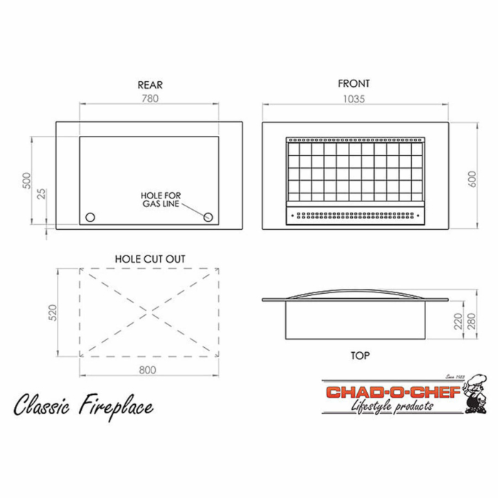 Technical-Specifications-Classic-Fireplaces
