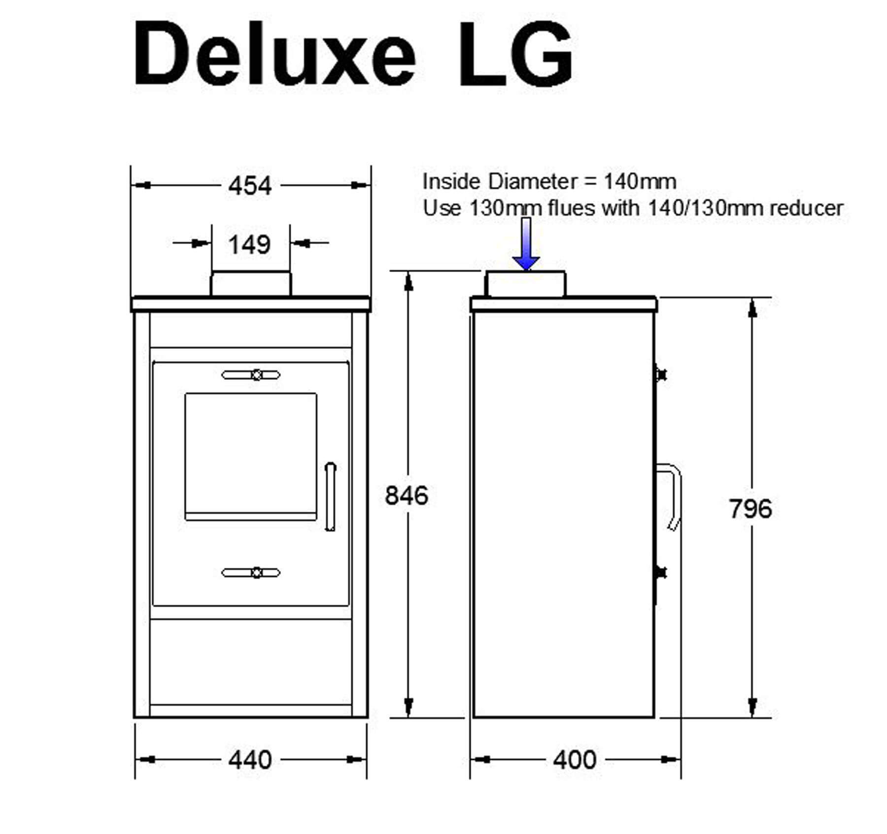 Technical-Specifications-Deluxe-LG-Fireplace