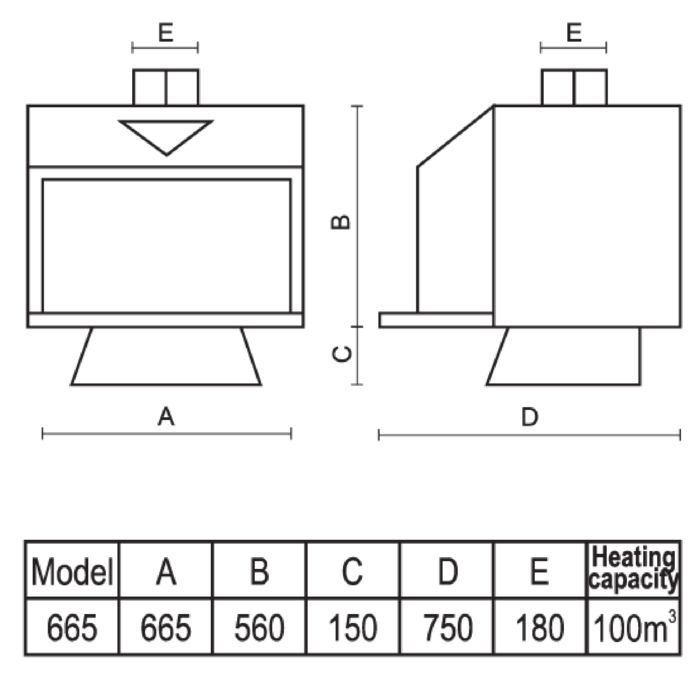 Technical-Specifications-Diamond-Fireplace