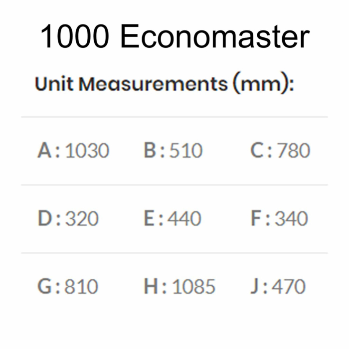 Technical-Specifications-Dimensions-1000-Economaster-Braai