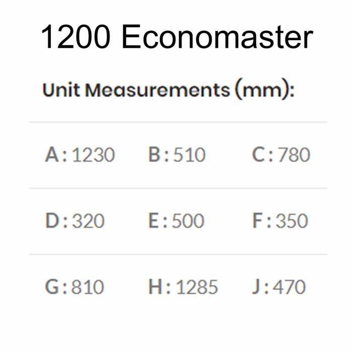 Technical-Specifications-Dimensions-1200-Economaster-Braai