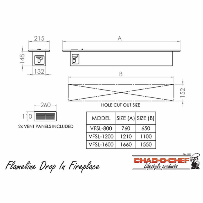 Technical-Specifications-Flameline-Drop-In-Fireplaces