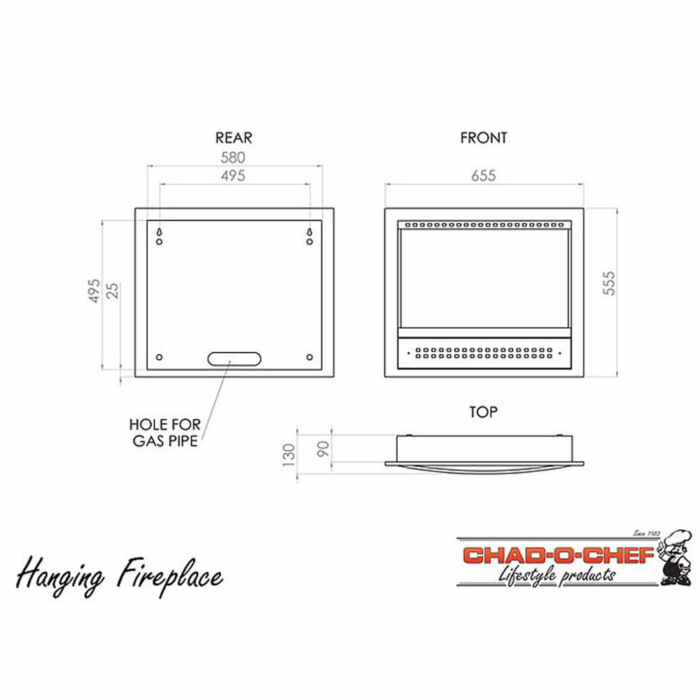 Technical-Specifications-Hanging-Fireplaces