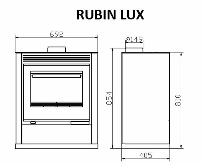Technical-Specifications-Rubin-Lux-Black-Fireplace