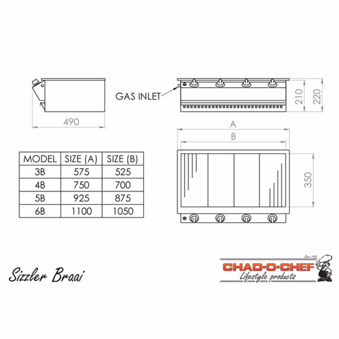 Technical-Specifications-Sizzler-Gas-Grill-Braais