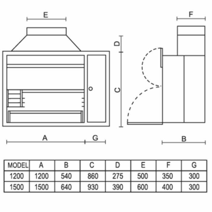 Technical-Specifications-Stainless-Steel-Super-Spit-De-Lux-Braais